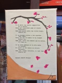 Libro Colgado texto Becquer Imagen creación propia