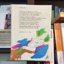 Libro Colgado texto Garcilaso de la Vega imagen creación propia