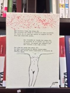 Libro Colgado texto e imagen creación propia