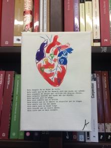 Libro Colgado de texto e imagen propias